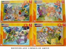 Puzzles multicolores Jumbo en carton