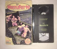 WWF - Wrestlefest '90 (VHS, 1990) COLISEUM VIDEO WWE WCW NWO RARE