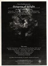 "NEWSPAPER CLIPPING/ADVERT 23/7/94PGN15 7X5"" NOVA ZEMBLA : DUNGEON OF DELIGHT"