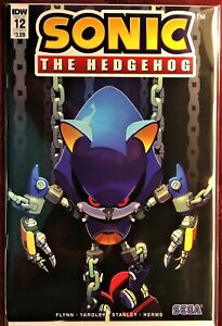SONIC The HEDGEHOG Comic Book IDW #12 December 2018 Silver Bagged & Boarded MINT