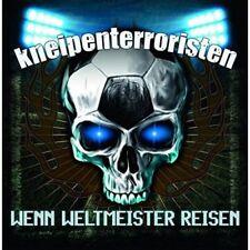 Kneipenterroristen Wenn Champion du monde Reisen 1LP Vinyle 2016 Remedy Records