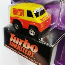 Tonka Turbo Tricksters 1989 Penny Racer Macau US Choro Q No.034 Red Hot Auto Van
