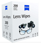 Zeiss Optical Moist Lens Cleaning Wipes Glasses Camera Phone Screen 1 - 400 Wipe