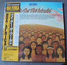 Michael Jackson & USA Africa, we are the world, Maxi Vinyl import Japon