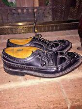 Vintage Imperial Wing Tip The Florsheim Leather Mens Dress Oxfords Shoes Sz 8.5