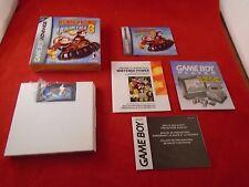 Donkey Kong Country 3 (Nintendo Game Boy Advance, 2005) COMPLETE w/ Box manual