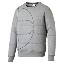 PUMA Evolution Men's Graphic Padded Sweater Sweat Male Grey L