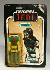 1983 Kenner STAR WARS ROTJ Nikto Action Figure Partially Opened 77-Back HK
