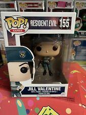 Resident Evil Funko Pop #155 Jill Valentine Rare Vaulted Grail Horror Excluaive