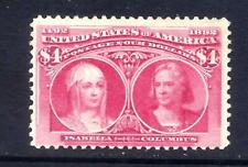US Stamps - #244 - MNG -  $4  1893 Columbian Expo Issue - CV  $1000