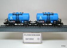 Fleischmann N 841002K - Set 2 cisterne Zs societa' VTG Italia marcati FS