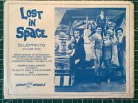 RARE/ VINTAGE Lost In Space Blueprints By Lunar Models Company