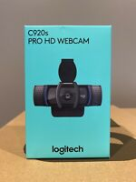 *BRAND NEW* Logitech C920s Pro HD 1080p Webcam with Privacy Shutter - *In Hand*