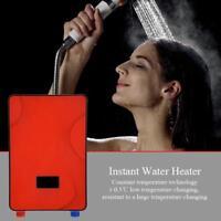 AC 220V Chauffe-eau électrique instantané sans réservoir 6500W Haute Puissance