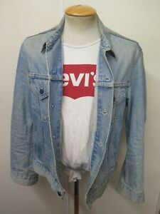 "VINTAGE Retro Grunge Levi's Red Tab Men's Denim Jacket Size M 38"" Euro 48"