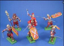 DSG DSGLWR01 1/32 PAINTED ROMANS IN RED TUNICS X 6 FIGURES