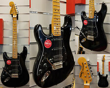 SQUIER Classic Vibe 70s  Stratocaster HSS MN Black     Lefthand -NEW 2019!!