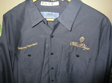 VINTAGE ORIG PLAZA HOTEL NEW YORK CITY LOGO 2 PC WORKERS UNIFORM SHIRT & PANTS
