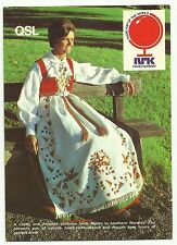 Radio Norway QSL Card 1983, costume from Agder