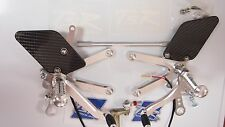 RC51 VTR1000SP 00-06 TSR HRC TYPE REARSETS NEW 2014 REISSUE BEAUTIFUL QUALITY