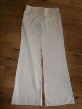 Monsoon Cotton 32L Trousers for Women