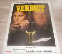 Filmplakat - VERDICT  Das Urteil (1974) -   Sophia Loren, Jean Gabin