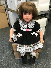 Denise Mc Millan Porzellan Puppe 67 cm. Top Zustand
