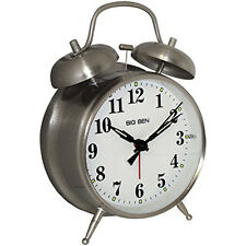 "Westclox Big Ben 4 1/2"" Twin Bell Alarm Clock 70010A"