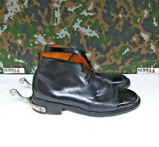 British Army Military Surplus Leather George Dress / Parade Boots & Spurs - 9