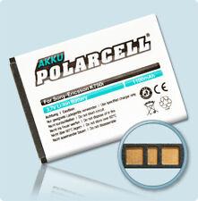PolarCell Akku für Sony Ericsson J100i J110i J120i J220i J230i Batterie Accu