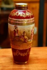 ANTIQUE ROYAL VIENNA EXCEPTIONAL HAND PAINTED VASE