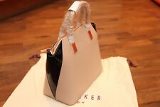TED BAKER Ashlee in Pelle Camel Small Tote Bag Bnwt Rrp £ 185