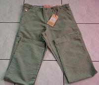 pantalon jeans kaki man AUTHENTIC LEGEND AND SOUL taille W31 (42) NEUF/ETIQUETTE