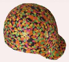 Multi-Coloured Riding Helmet Covers