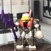 1987 Hasbro Takara Battle Beasts Action Figure Platypus With Weapon And Rub Sign