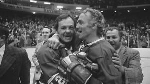 Yvan Cournoyer, Henri Richard Montreal Canadiens 8x10 Photo