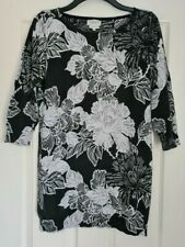 Next Floral Jumper Dress - Size 16 - Immaculate