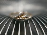 925 Silber Ring Brutalist Modernist Ungewöhnlich Besonders Gewollt Uneben Schön