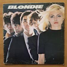 BLONDIE DEBBIE HARRY Blondie CHRYSALIS Canada Press CHR-1165 VINYL LP