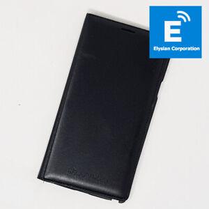 Genuine Samsung Galaxy Note 4 EF-WN910BCEGWW - Horizontal Flip Back Cover -Black