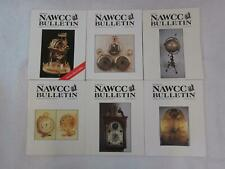 Lot of 6 NAWCC BULLETIN Association of Watch & Clock Collectors 1995