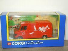 Mercedes 207D Van London Zoo - Corgi 58402 in Box *45349