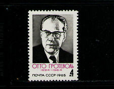RUSIA/URSS-RUSSIA/USSR 1965 MNH SC.3051 O.Grotewohl,Prime Minister GDR