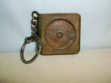 NARCOTICS ANONYMOUS WOODEN MEDALLION HOLDER KEY RING