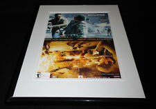The Bourne Conspiracy 2008 PS3 Framed 11x14 ORIGINAL Vintage Advertisement