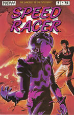 Speed Racer Comic Book  #4 NOW 1987, FINE +