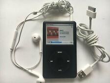 Apple iPod Classic 6th Generation Black 80 GB Bundle MB147LL A1238 Great Shape