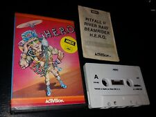 Hero 1984 proein spain Activision case case msx cassette attachment manual