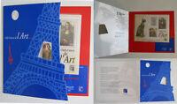 Encart Chefs d'oeuvre de l'Art 150 ans Philexfrance Son Musée Imaginaire