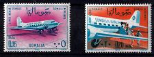 ITALY Somalia 1964 2 New Stamps Yvert Tellier Somalia Airlines serie completa